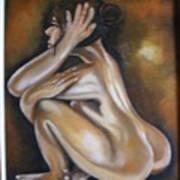 Nue Metisse Art Print