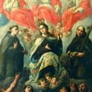 Nuestra Senora Del Carmen Art Print