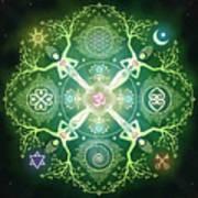 Numinosity Mandala Art Print