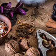 Nuts And Spices Series - Three Of Six Art Print
