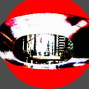 Ny 57th Street Fisheye Art Print