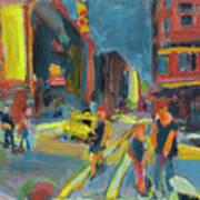 Ny Intersection Art Print