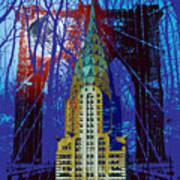 Nyc Icons Print by Gary Grayson