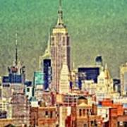 Nyc Scaped Art Print
