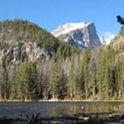 Nymph Lake In Rocky Mountain National Park Art Print