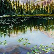 Nymph Lake Art Print