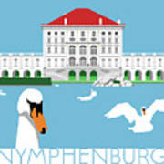 Nymphenburg Palace Art Print