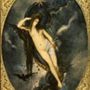 Nyx Night Goddess Art Print