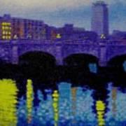 O Connell Bridge - Dublin Art Print
