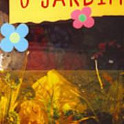 O Jardim Art Print