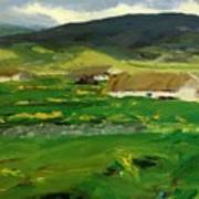 O Malley Home Achill Island County Mayo Ireland 1913 Art Print