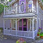 Oak Bluffs Gingerbread Cottages 7 Art Print