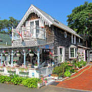 Oak Bluffs Gingerbread Cottages 8 Art Print
