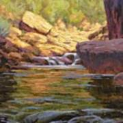 Oak Creek Tributary Art Print