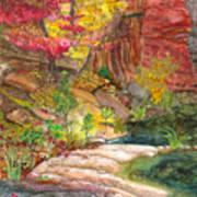 Oak Creek West Fork Art Print