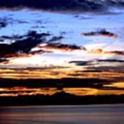 Oak Harbor Sunrise Sr 1002 Art Print