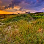 Oak Island Sunset Art Print