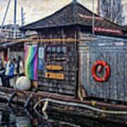 Oarhouse Art Print