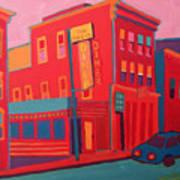 Oasis Diner Burlington Vt Art Print
