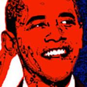 Obama Hope Art Print