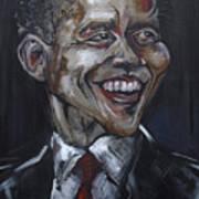 Obama Art Print