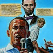 Obamas Heritage Art Print