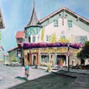 Oberammergau Street Art Print