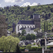 Oberwesel Old And New Art Print