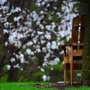 Observation Chair Art Print