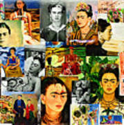 Obsessed With Frida Kahlo Art Print