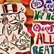 Occupy All Beats Print by Tony B Conscious