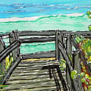 ocean / Beach crossover Art Print