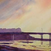Ocean Beach Pier 4 Art Print