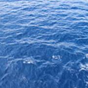 Ocean Blue Art Print