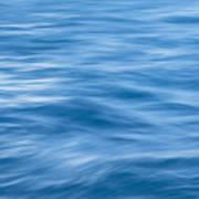 Ocean Blur Art Print