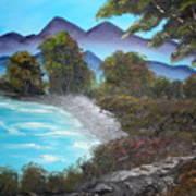 Ocean Breezes Art Print