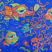 Ocean Carnival Art Print