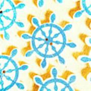 Ocean Circles Art Print