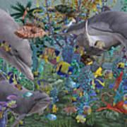 Ocean Circus Art Print