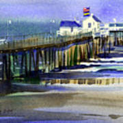 Ocean City Fishing Club Art Print
