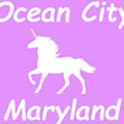 Ocean City Maryland Art Print