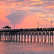 Ocean Crest Pier Art Print