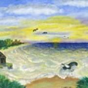 Ocean Delight Art Print