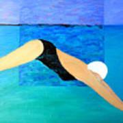 Ocean Dive Art Print
