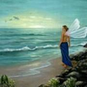 Ocean Fairy Art Print