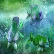 Ocean Fantasy 4 Art Print
