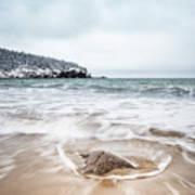 Ocean Flows Art Print