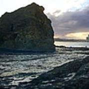 Ocean Headland Panorama Art Print