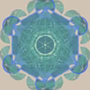 Ocean Metatron Art Print