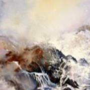 Ocean Rage Art Print